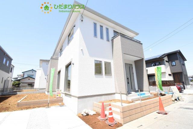 【外観】行田市深水町 1期 新築一戸建て 02