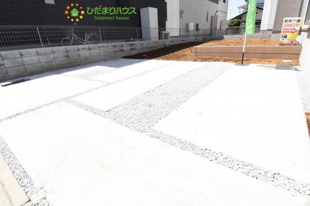 【駐車場】行田市深水町 1期 新築一戸建て 02