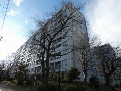 【所沢コーポラスA棟】10階建ての建物です