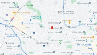 【地図】エスワンハイツ高ヶ坂
