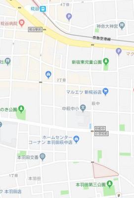 【地図】ラファライズ