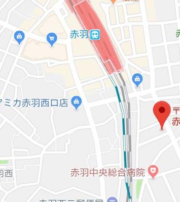 【地図】フラワーコート