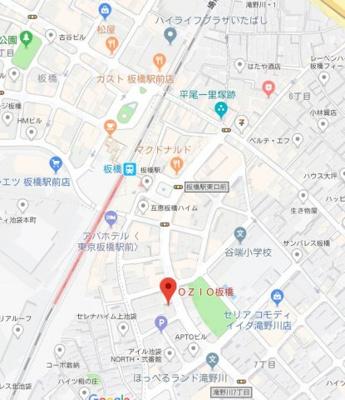 【地図】ドゥーエ板橋