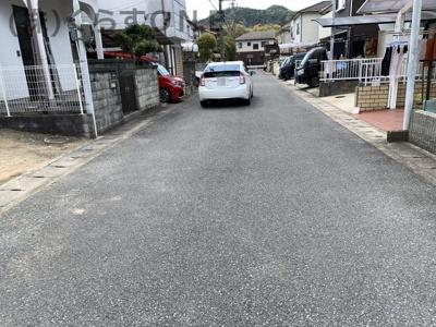 【前面道路含む現地写真】姫路市上手野/中古戸建