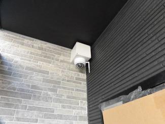 共用部には防犯カメラも設置済み! 置配利用時も安心です!