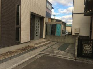 【駐車場】松山市 南斎院 中古住宅 33.94坪