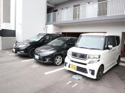 【駐車場】エステムコート神戸ハーバーランド前Ⅶレーベル