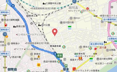 【地図】プラム・サン