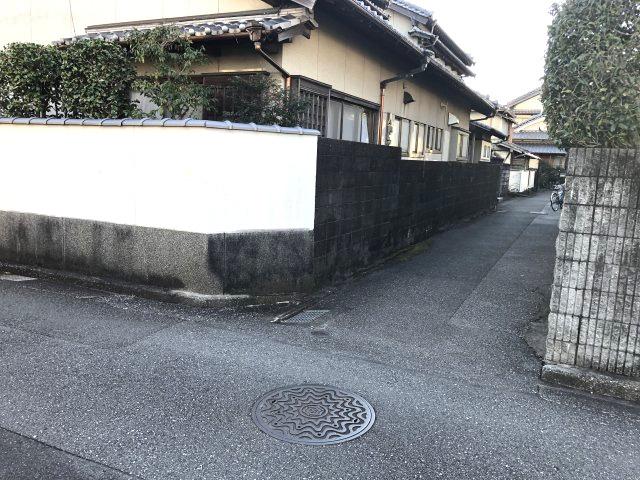 【前面道路含む現地写真】高知県高知市中水道 売土地