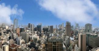 【物件からの展望】34階部分・南向きにつき、日当たり眺望良好♪