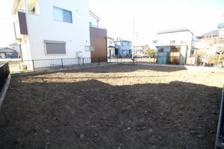 【外観】鶴ヶ島市下新田 建築条件なし売地 「一本松駅」徒歩8分 敷地43坪