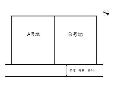 【区画図】姫路市下手野5丁目/2区画