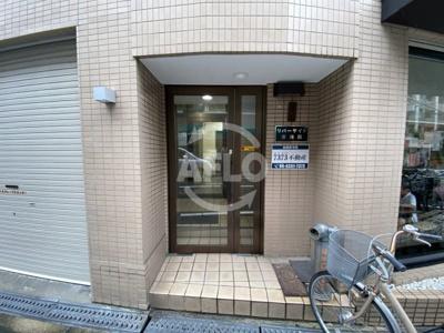 リバーサイド東梅田 エントランス