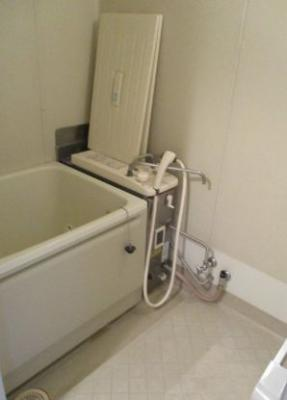 【浴室】県ドリームハイツ9号棟