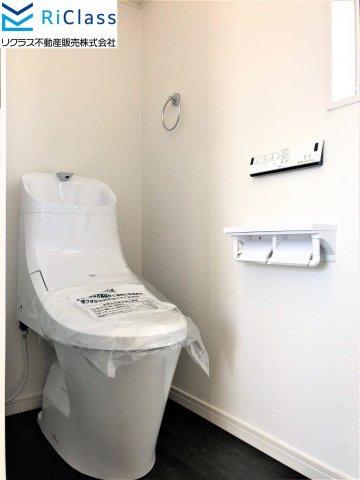 1階トイレです。