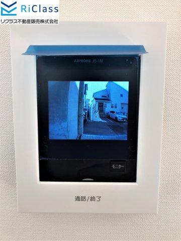 【セキュリティ】新築戸建 北区広陵町2丁目