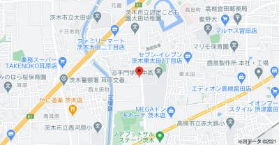 【地図】ハイツ弥栄