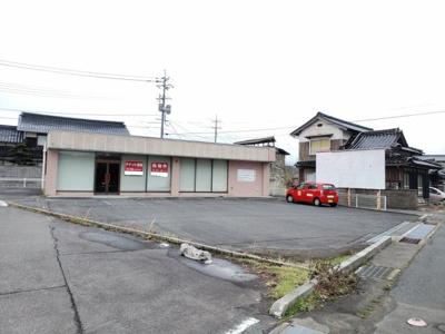 【外観】鳥取市気高町日光店舗事務所