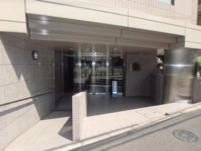 【エントランス】目黒青葉台グランドハイツ