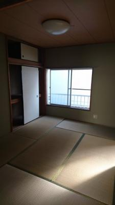 【寝室】アパートフジ