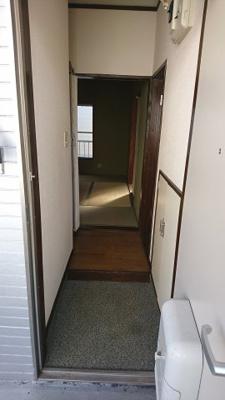 【玄関】アパートフジ