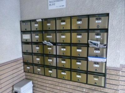 メールボックス完備!
