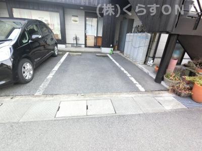 【駐車場】姫路市東夢前台3丁目/中古店舗付住宅
