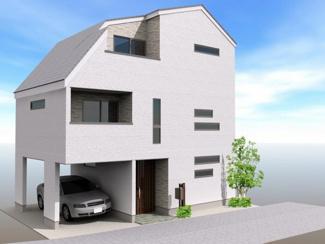 建物参考プラン完成イメージパース 2,280万円、112.05㎡