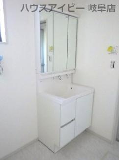 使いやすい洗面所です。岐阜市西中島 新築建売♪