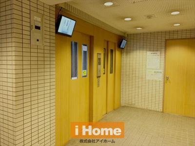 エレベーターが2基あります!