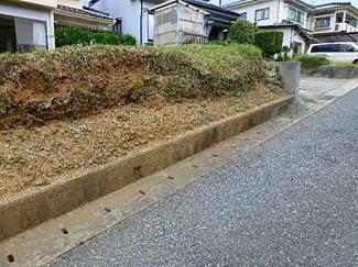 【前面道路含む現地写真】広島市東区馬木8丁目 土地