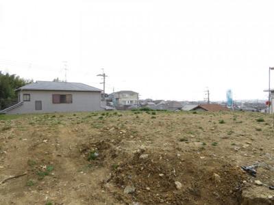 【前面道路含む現地写真】池田市旭丘2丁目 新築戸建 4号地