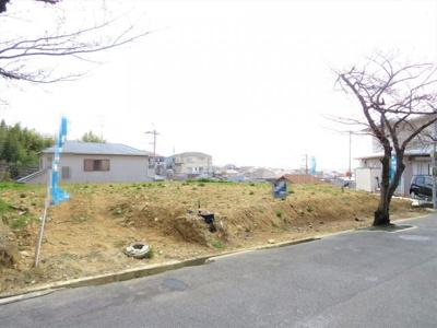 【前面道路含む現地写真】池田市旭丘2丁目 新築戸建 2号地