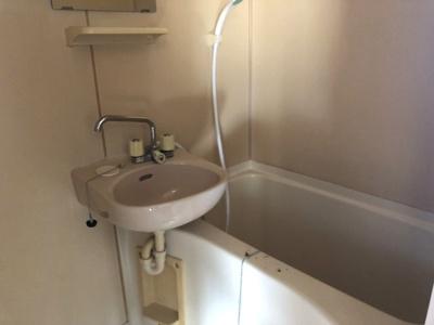 【浴室】コーポ北端