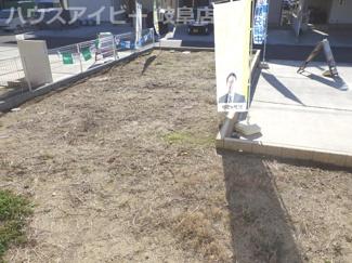 岐阜市尻毛 未入居物件 建売 残り2棟 南西角地で日当り良好 お車スペース並列3台余裕で停められます