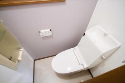 【トイレ】伏見区向島立河原町 中古戸建