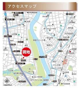 案内図:三郷新築ナビで検索♪