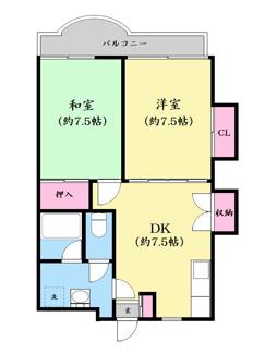 【間取り】千葉県我孫子市寿2丁目一棟マンション