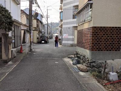 【前面道路含む現地写真】京都市山科区西野楳本町
