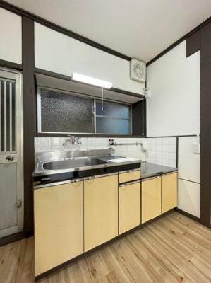 【キッチン】山手5丁目テラスハウス