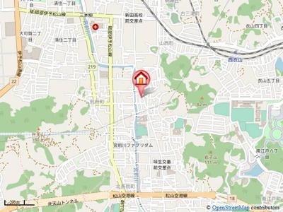 【地図】シンセリティⅡ