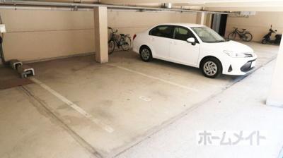 【駐車場】津之江パークハイツ2号館