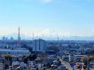 晴れの日には富士山も一望できます。