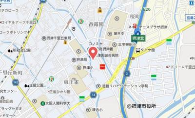 【地図】エール三島