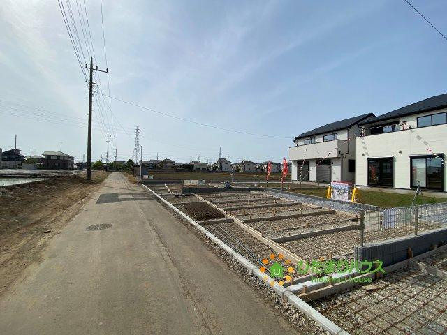 【前面道路含む現地写真】古河市上辺見 20⁻1期 02 新築一戸建て リナージュ