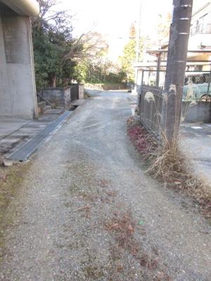 【前面道路含む現地写真】神戸市北区有野町唐櫃