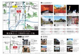 プレゼン資料。周辺観光地マップ