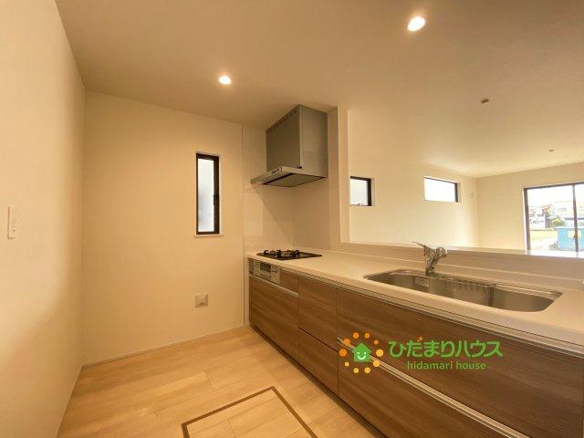 【キッチン】古河市上辺見 20⁻1期 03 新築一戸建て リナージュ