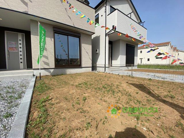 【庭】古河市上辺見 20⁻1期 03 新築一戸建て リナージュ