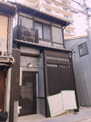 【外観】下京区永養寺町 新築ゲストハウス